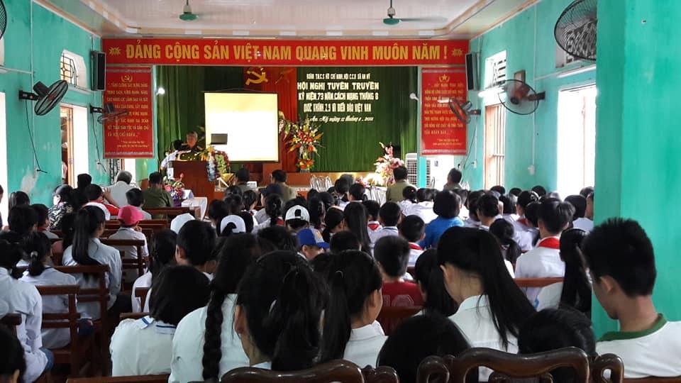 Quỳnh Phụ: Giáo dục truyền thống cho thế hệ trẻ An Mỹ