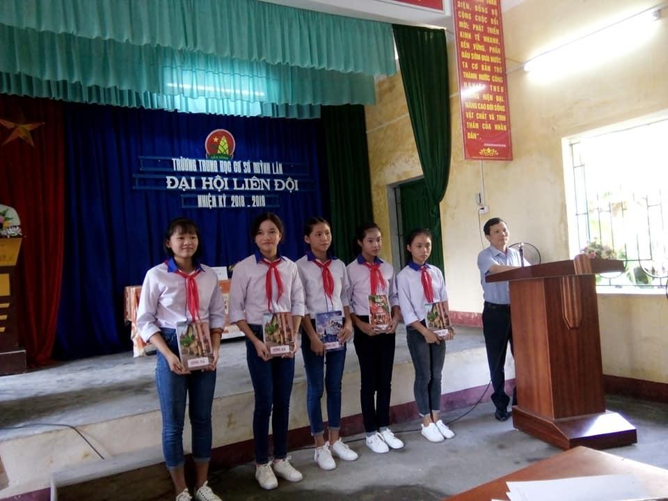 Quỳnh Phụ: Đại hội Liên đội THCS Quỳnh Lâm