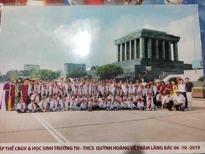 Quỳnh Phụ: Hoạt động trải nghiệm của Liên đội TH & THCS Quỳnh Hoàng