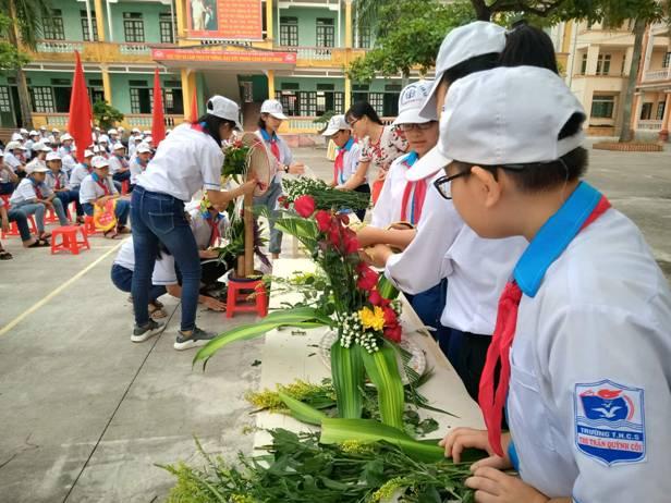 Tiểu học An Đồng tổ chức lễ phát động tuần lễ học tập suốt đời