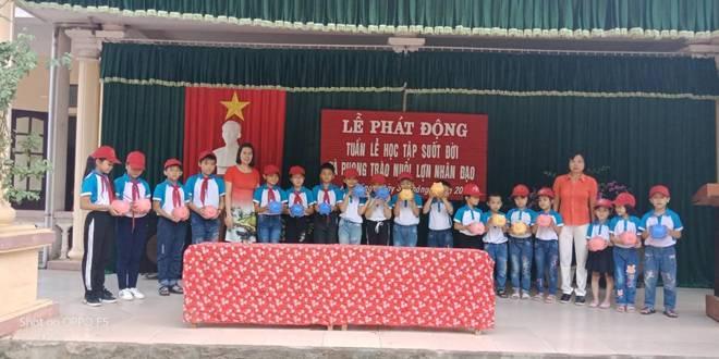 """Liên đội TH & THCS Quỳnh Hưng tổ chức Hội thi """"Giới thiệu – Kể chuyện sách"""" năm học 2019 - 2020"""