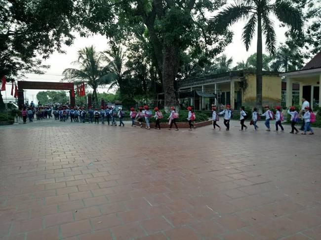 Tiểu học An Đồng ra mắt mô hình cổng trường ATGT