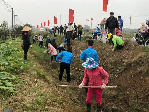 """Huyện đoàn Quỳnh Phụ: Phát động phong trào """"Tuổi trẻ Quỳnh Phụ chung sức thực hiện Đề án sản xuất vụ Xuân, Hè năm 2021"""""""