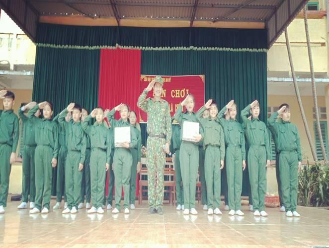 Quỳnh Phụ: Trường Tiểu học An Mỹ tổ chức sân chơi: Chúng em là chiến sĩ